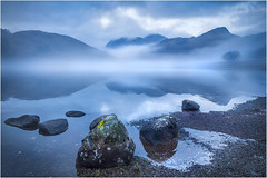 Lake District (beninfreo) Tags: bleatarn lakedistrict uk gb cold winter evening reflection reflections cloud shrouded langdalepikes frozen ice water cloudtogroundimages canon5d3 1740mml 1740mm canon
