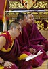 Chanting (Sakya Monastery of Tibetan Buddhism, Seattle, USA) Tags: seattle washington washingtonstate pna pacificnorthwest sakya sakyamonastery sakyamonasteryoftibetanbuddhism buddhism tibetan tibetanbuddhism buddhist buddhistmonk buddha love compassion kindness happiness joy flicker texture bright fun temple shrine church gold red yellow white khenpojampa prayer selfie portrait chant blessing emptiness