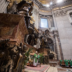 Santa Marta Group Conference 2018 - Mass in Basilica St Peter, Altar of the Chair of St Peter Cardinal John Onaiyekan thumbnail