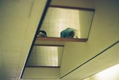 stranger ceiling (nerve jamming) Tags: 35mm film nikkormat ft expired ektachrome kodak fujifilm