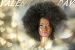 funky valentine's day (photos4dreams) Tags: barbie mattel doll toy diorama photos4dreams p4d photos4dreamz barbies girl play fashion fashionistas outfit kleider mode puppenstube tabletopphotography aa beauties beautiful girls women ladies damen weiblich female funky afroamerican afro schnitt hair haare afrolook darkskin africanamerican