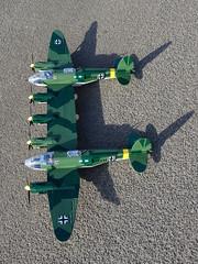 Cobi_Heinkel_He-111_Z-1_Zwilling_MOC_07 (El Caracho) Tags: cobi small army building blocks ww2 warplane plane bomber heinkel he111 zwilling moc