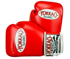 Yokkao Basic Red Boxing Gloves For All Level (A1 Fight Gear) Tags: yokkaomuaythaitshirts yokkao boxing gloves shorts ankle guards carbonfit muay thai pro tshirts
