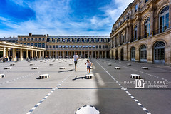 Leap And Hop - Palais-Royal, Paris, France (davidgutierrez.co.uk) Tags: paris architecture art city photography davidgutierrezphotography nikond810 nikon urban travel people color londonphotographer photographer night france blue skyscraper london uk museum artmuseum 巴黎 パリ 파리 париж parís parigi colors colours colour europe beautiful cityscape davidgutierrez capital structure ultrawideangle afsnikkor1424mmf28ged 1424mm d810 street arts bluesky vivid vibrant design fashion culture palaisroyal palaiscardinal courtyard history landmark icon iconic worldicon boy leap jump hop play summer sunshine