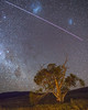 ISS flyover, Take 2 (nightscapades) Tags: act astronomy astrophotography australiancapitalterritory canberra iss ianwilliams internationalspacestation magellanicclouds milkyway nasa namadginationalpark night nightscapes sky stars