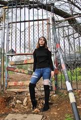 (Kristin Kurtz) Tags: portraits austin atx austintexas texas hopeoutdoorgallery graffitipark seniorphotos