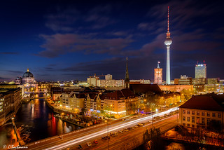 Skyline of Berlin (Germany)