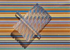 012/365 Distorted (Helen Orozco) Tags: distorted stripes twists 2018365 shadows gluesticks 12365 shadow