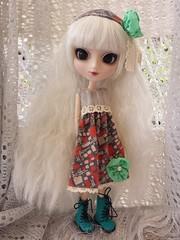 New Dresses (Mel's Girls) Tags: pullip blythe hujoo doll handmadeoutfit eos