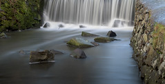 River Lin Waterfall (John__Hull) Tags: waterfall stones river lin bradgate park newtown linford stone wall leicestershire charnwood uk england nikon d7200 long exposure
