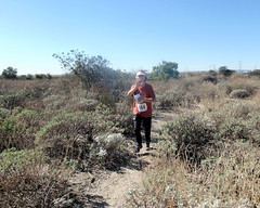 015 Out Of The Woods (saschmitz_earthlink_net) Tags: 2018 california orienteering irwindale losangelescounty santafedam santafedamrecreationarea laoc losangelesorienteeringclub trail brush participant
