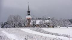 Lovö Kyrka (tonyguest) Tags: lovö kyrka drottningholm sverige sweden tonyguest stockholm lovön winter snow church