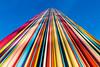 Ceci n'est pas le Mont Blanc (fidgi) Tags: paris ladéfense art colors couleur colorful coloré ciel sky ombre shadow lemoretti raymondmoretti canon canoneos5dmk3 lignes lines