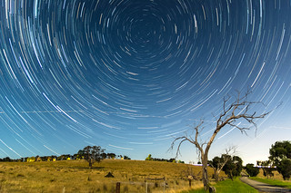 Star Trails over the Yarra Valley
