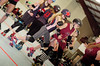 159 (Bawdy Czech) Tags: lcrd lava city roller dolls cinder kittens cherry bomb brawlers skate rollerskate bout bend oregon or february 2018 juniorderby juniors rollerderby lavacityrollerdolls