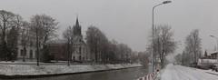 Hoofdvaart in Hoofddorp, the Netherlands (Hans Westerink) Tags: hoofddorp noordholland nederland nl winter snow sneeuw hanswesterink water polder haarlemmermeer canon netherlands paysbas jopenkerk pastorie rooks