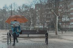 Snow Day (Ragonar) Tags: canoneos1dxmarkii canon 1dxmarkii 1dx 50mm streetphotography streetstyle sigma sigma50mm14art spain streets urbanphoto urbancity urbanexploration orangeteal orange teal tealorange snowday snow