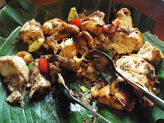 Indonesian cuisine (sean and nina) Tags: indonesia indonesian cuisine food meal eat eating dinner lunch meat vegetables fruit rice dessert yogja yogya yogyakarta south east asia asian island java dish dishes utensils serve serving portion indoors inside spring february 2018 tourist tourism delicious taste tasty diet healthy colour colourful buffet selection