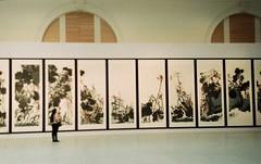 Exhibition of Chinise Art (JulianaKruz) Tags: filmphoto film fed2 fed analog analogphoto analoque agfa analogue agfavista art chiniseart exhibition museum 35mm пленка фотопленка выставка музей искусство фэд фэд2