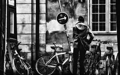 Show me the way... (andersåkerblom) Tags: arrow streetphotography streetphoto street monochrome blackandwhite bw bnw