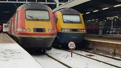 Double HST AT Newcastle (Uktransportvideos82) Tags: