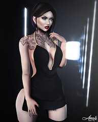Never Look Back.. (Anais Maelle) Tags: carolg art badhairday blogger creative ebentoevent event fashion italian maelleanais scandalize secondlife thechapterfour treschicvenueevent