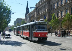 Brno tram No. 1626 (johnzebedee) Tags: tram transport publictransport vehicle brno czechrepublic johnzebedee