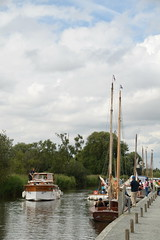 How Hill Dock (Worthing Wanderer) Tags: norfolk summer sunny cloudy farmland ludham howhill windmill august