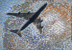 departing british airways flight 5000 image mosaic (pbo31) Tags: bayarea california mosaic collage boury pbo31 color january 2018 winter sanfranciscointernational sfo plane sanmateocounty sanbruno ba britishairways 747 boeing departure takeoff airport aviation flight fly travel