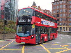 LF67EVD (47604) Tags: lf67evd hv357 arriva red bus london waterloo route service 341