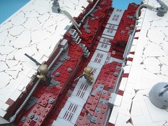 Defense of Crait - Trench (KW_Vauban) Tags: starwars episodeviii thelastjedi lego moc crait battleofcrait battlefront trench
