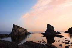 The rock ship of Sinemorets (alisonsmemory) Tags: water bulgaria scape scenery sea rocks nature sunrise dawn blacksea ships morning