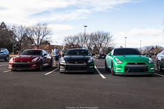 Which Color For You? (Hunter J. G. Frim Photography) Tags: supercar colorado nissan gtr r35 skyline japanese import v6 turbo wing carbon green red black nissangtr