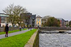 Riverwalk (NBD Photography) Tags: galway ireland river corrib nikon beauty bridge walking people
