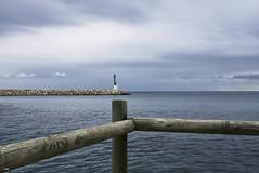 Con vistas al faro (candi...) Tags: faro mar puerto cielo nubes agua airelibre naturaleza sonya77 palos
