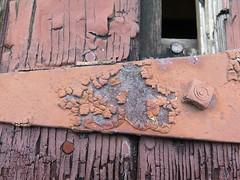 Textures (Brix5) Tags: texture macro peelingpaint paint rust decay brix5 urban crusty canong16 canada