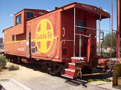 Old caboose (thomasgorman1) Tags: train california barstow ca historic railroad rr caboose santafe rail museum