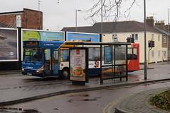 SW 34839 @ Swindon bus station (ianjpoole) Tags: stagecoach west alexander dennis adl pointer vu06hzy 34839 working route 55 swindon bus station high street royal wootton bassett