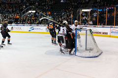 "Kansas City Mavericks vs. Indy Fuel, February 16, 2018, Silverstein Eye Centers Arena, Independence, Missouri.  Photo: © John Howe / Howe Creative Photography, all rights reserved 2018. • <a style=""font-size:0.8em;"" href=""http://www.flickr.com/photos/134016632@N02/26516367508/"" target=""_blank"">View on Flickr</a>"