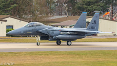 RAF Lakenheath Base Tour 23 Feb 18 (SHGP) Tags: f15e strike eagle raf lakenheath royal united states air force f15c f15 aircraft jet fast fighter plane cold war aviation caon eos 700d sigma 18250mm 150500mm outdoor vehicle shgp steven harrisongreen base tour ksaviationtrips 493fs 493rd squadron usaf usafe flightline avgeek aviationphotogrpahy