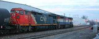 CN 2440, BCOL 4614, Chapman, Neenah, 24 Feb 18
