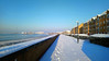 Winter panorama of GRAYS, Essex, England (claude 22) Tags: grays winter panorama essex uk great britain snow river thames tamise paysage littoral rivage landscape london londres