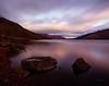 Calm (Akadingbat) Tags: lochearnlongexposure scotland trossachs national park water hills rocks evening colours color sky