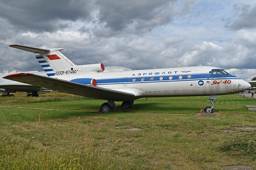 Yakolev Yak-40K 'CCCP-87490'