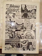 """VON SHOLLY """"TRIGGER"""" CHARACTER ADULT COMIC BOOK ART GROUP.  $550. • <a style=""""font-size:0.8em;"""" href=""""http://www.flickr.com/photos/51721355@N02/27849163799/"""" target=""""_blank"""">View on Flickr</a>"""