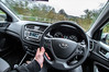 Hyundai i20 SE 2017. . . (CWhatPhotos) Tags: cwhatphotos steering wheel drive driver driving olympus epl8 beanie four thirds wide angle fisheye fish eye view bodycap body cap les 9mm digital camera photographs photograph pics pictures pic picture image images foto fotos photography artistic that have which with contain artistc art light auto automobile car hyundai i20 hyundaii20 12se 12 se vehicle 2017 new brand inside cab dashboard controls interior