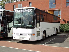 Nightingale Coaches of Stanley M501XWC (yorkcoach2) Tags: york stanley nightingalecoaches m501xwc vanhool clarencestcoachpark