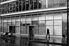 In the gleaming street (pascalcolin1) Tags: paris13 rue street brillant gleaming homme man pluie rain reflets reflection photoderue streetview urbanarte noiretblanc blackandwhite photopascalcolin 50mm canon50mm canon