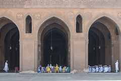 20171226 Cairo, Egypt 08350-54 (R H Kamen) Tags: ahmadibntulonmosque ahmedibntulunmosque cairo egypt egyptianculture middleeast northafrica architecture day famousplace largegroupofpeople mosque muslim outdoors placeofworship rhkamen