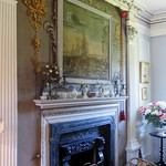 Au salon, Traquair House (XVIIe), Innerleithen, Scottish Borders, Ecosse, Royaume-Uni. thumbnail